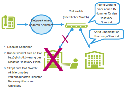 Disaster Recovery-Plan Colt VoIP Access