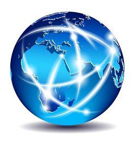 Eine MPLS Anbindung mit weltweiten Standorten